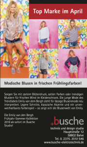 Busche Angebot April 2018